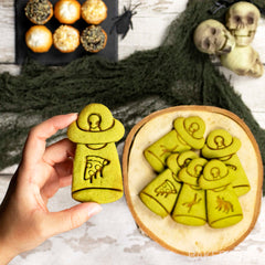 ufo abduct pizza matcha cookie