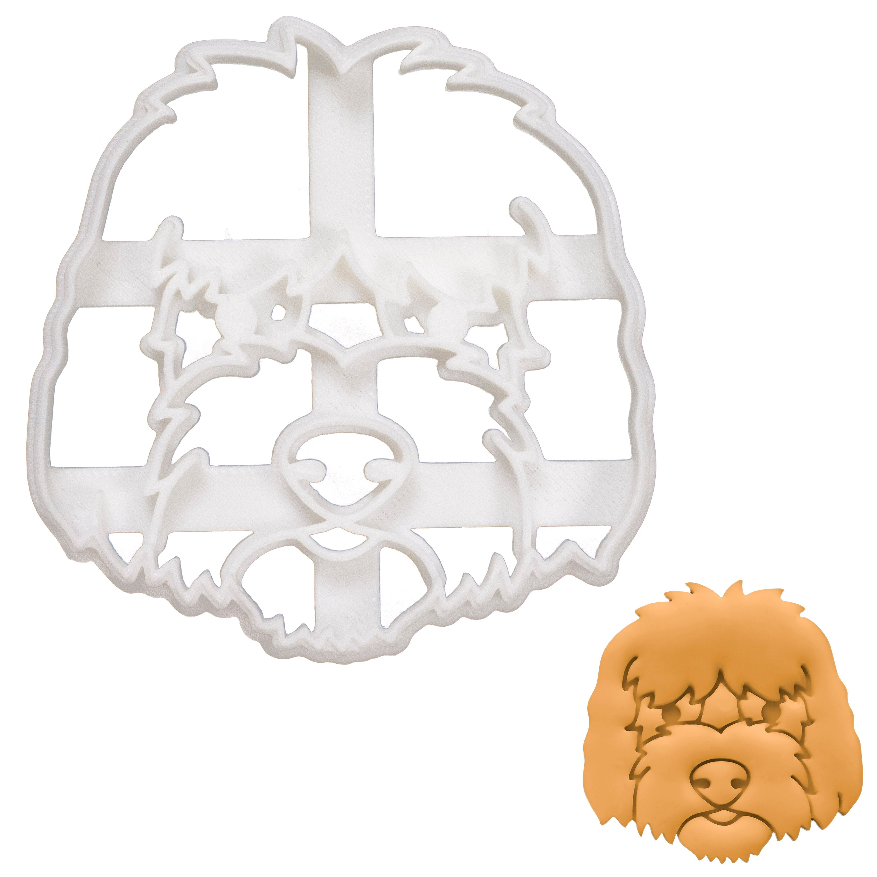Goldendoodle Face Cookie Cutter