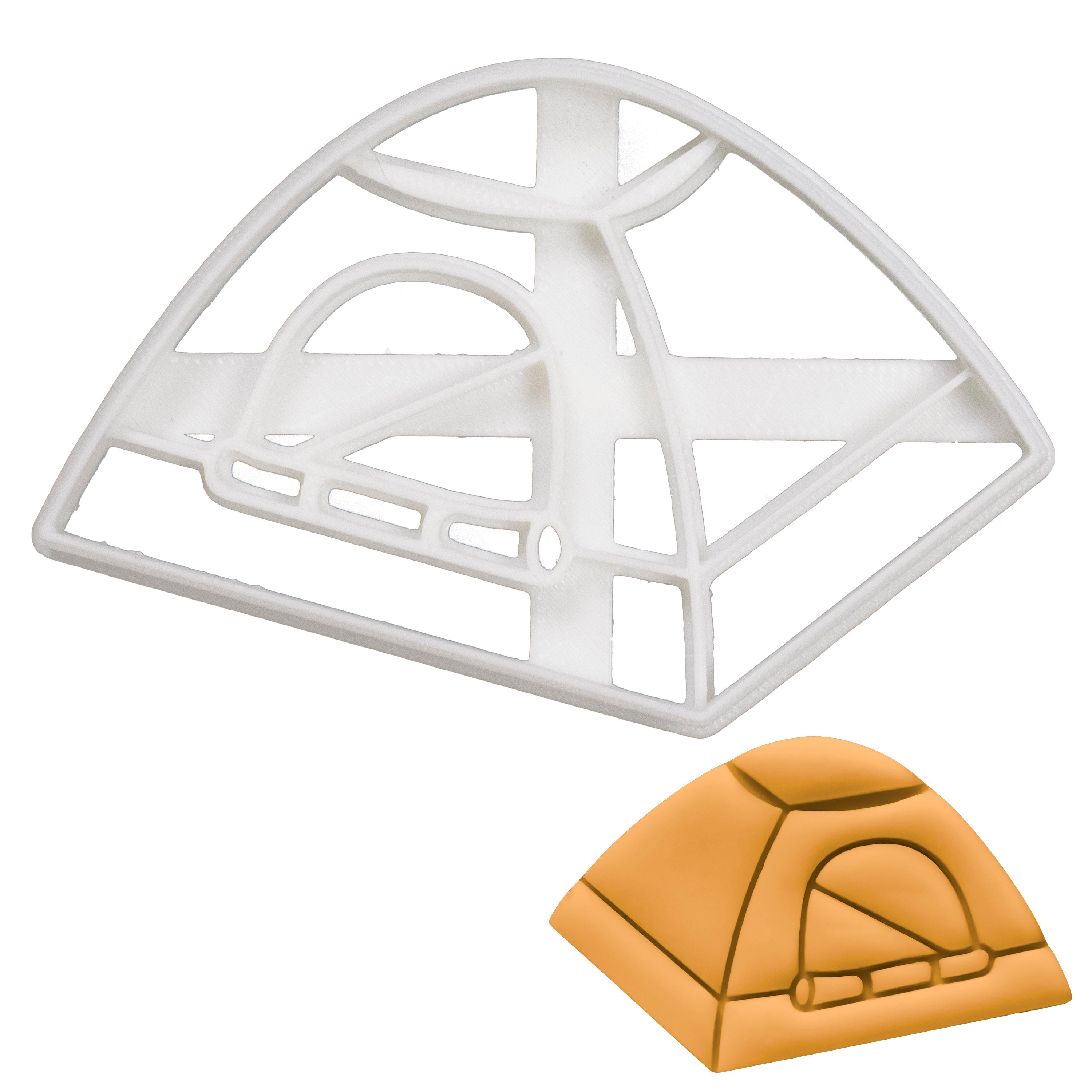 Camping Tent Cookie Cutter