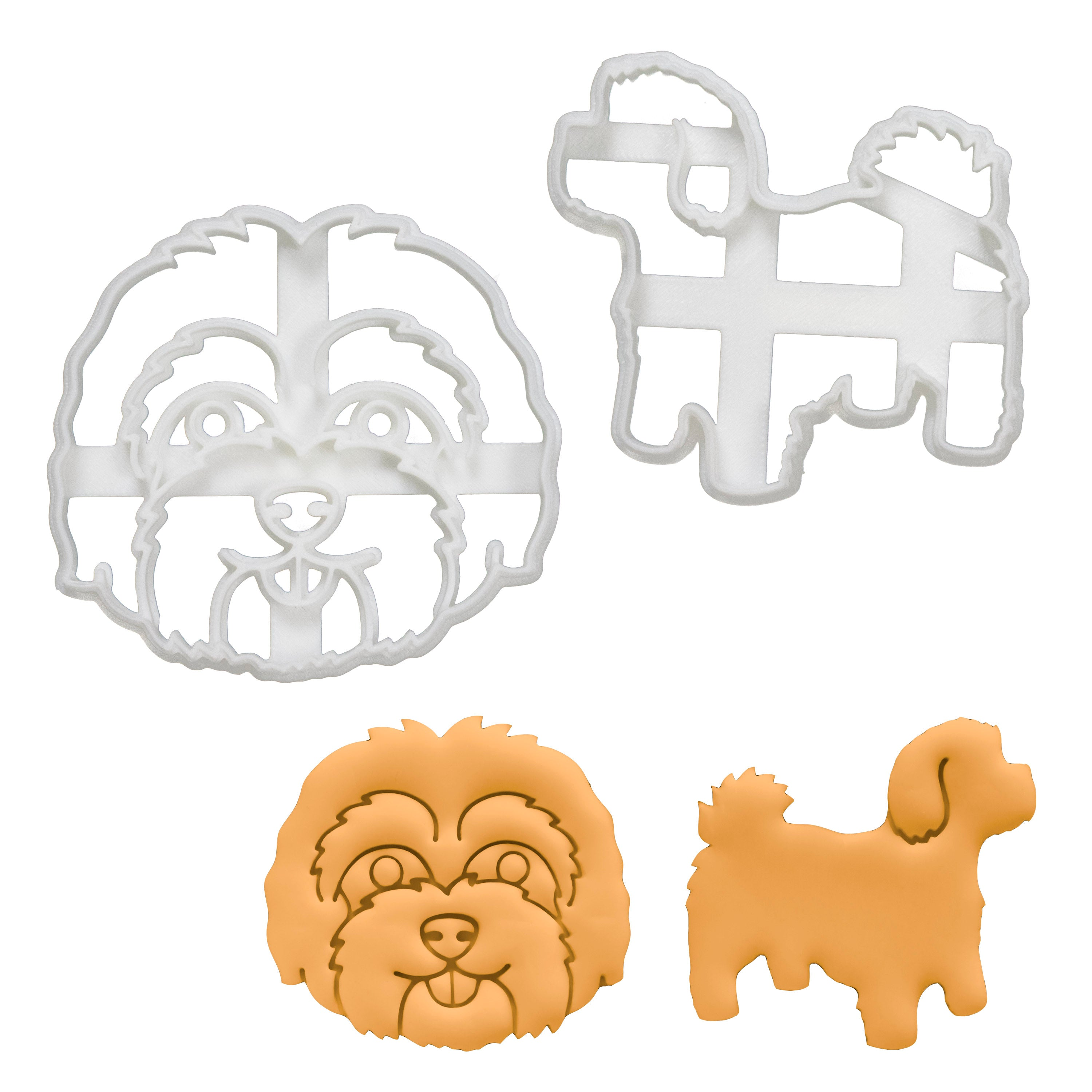 Set of 2 Maltipoo Cookie Cutters