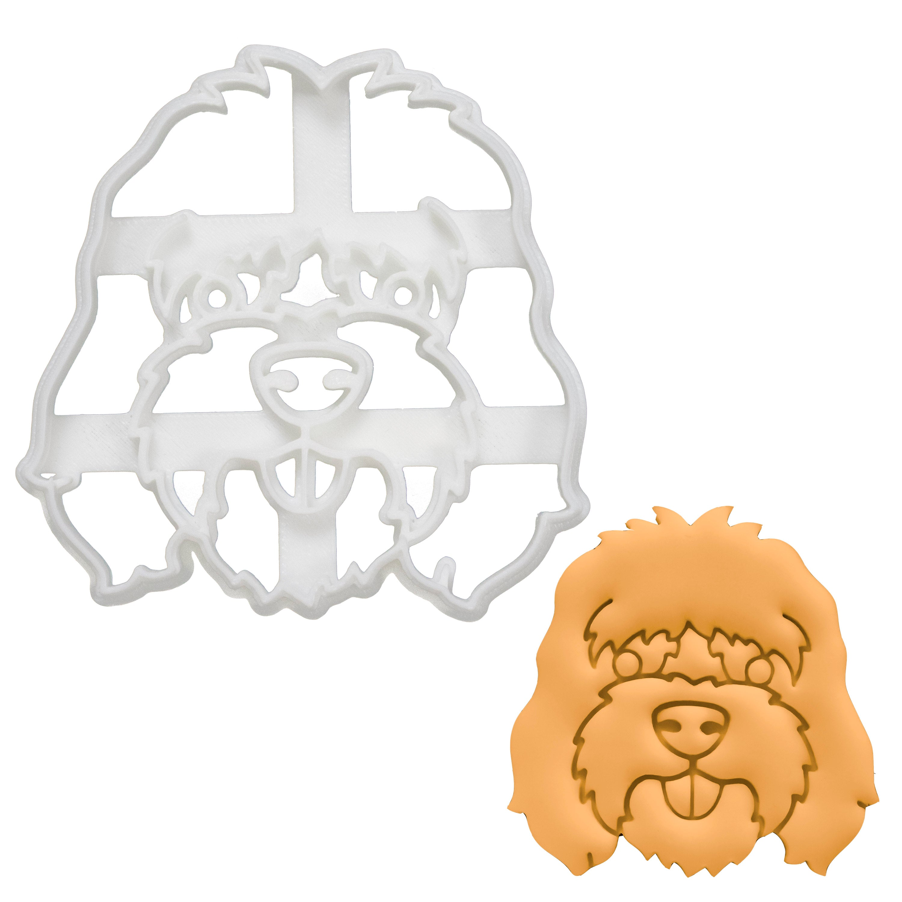 Cockapoo Face Cookie Cutter
