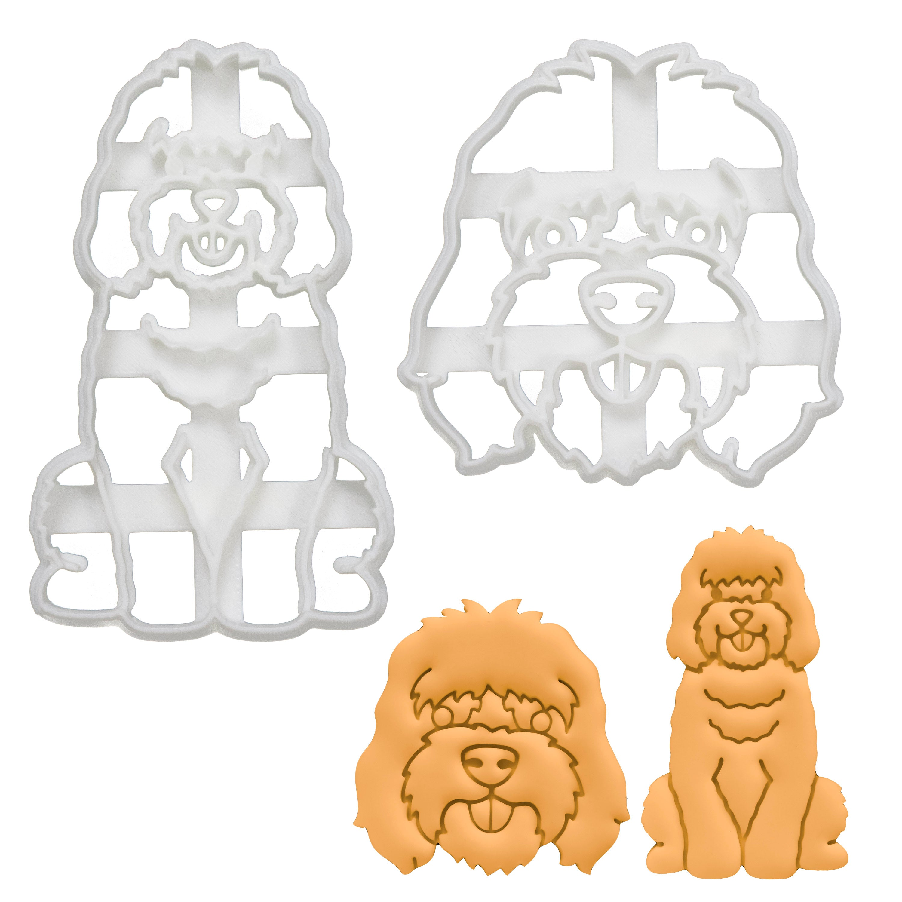 Set of 2 Cockapoo Cookie Cutters