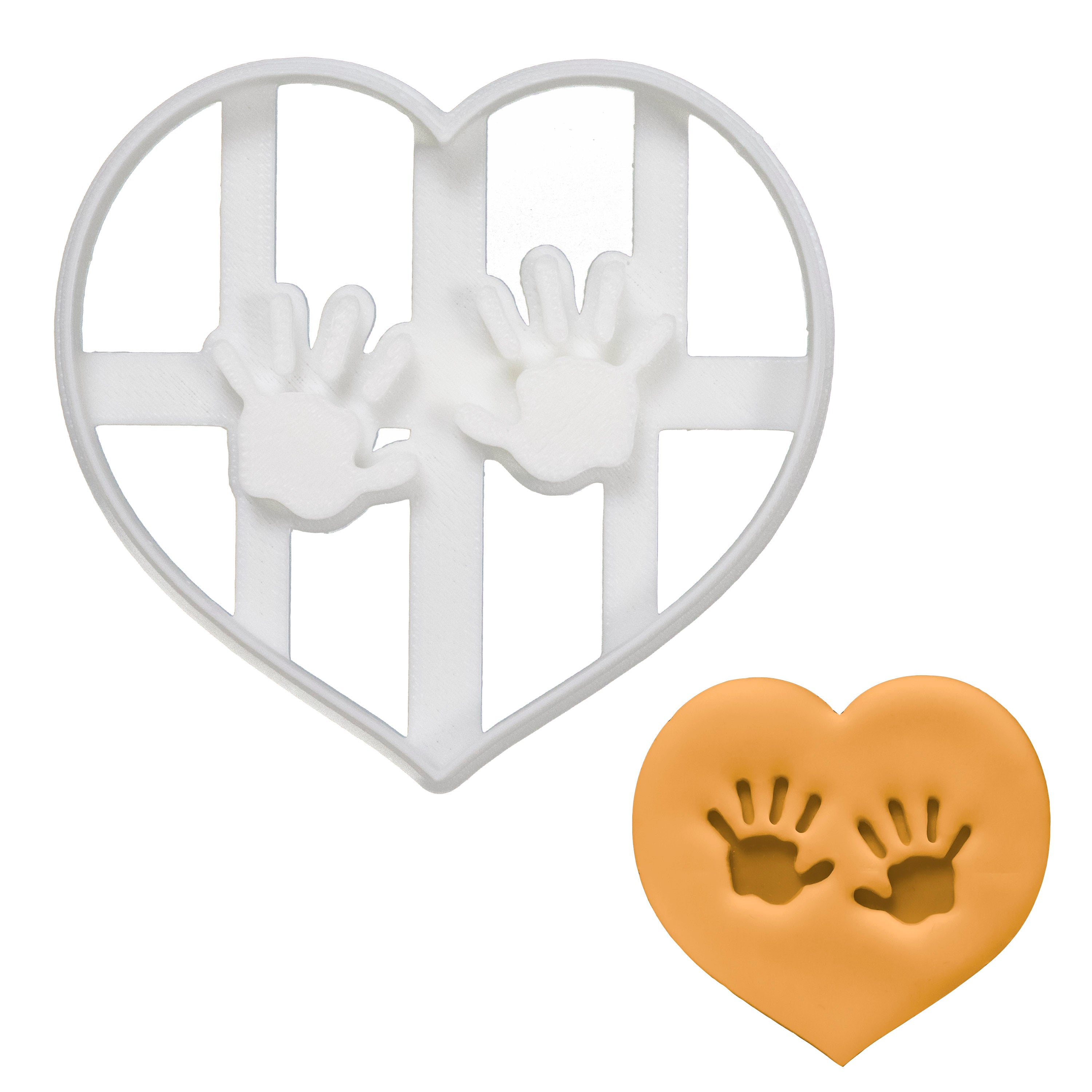 Baby Hand Prints Cookie Cutter
