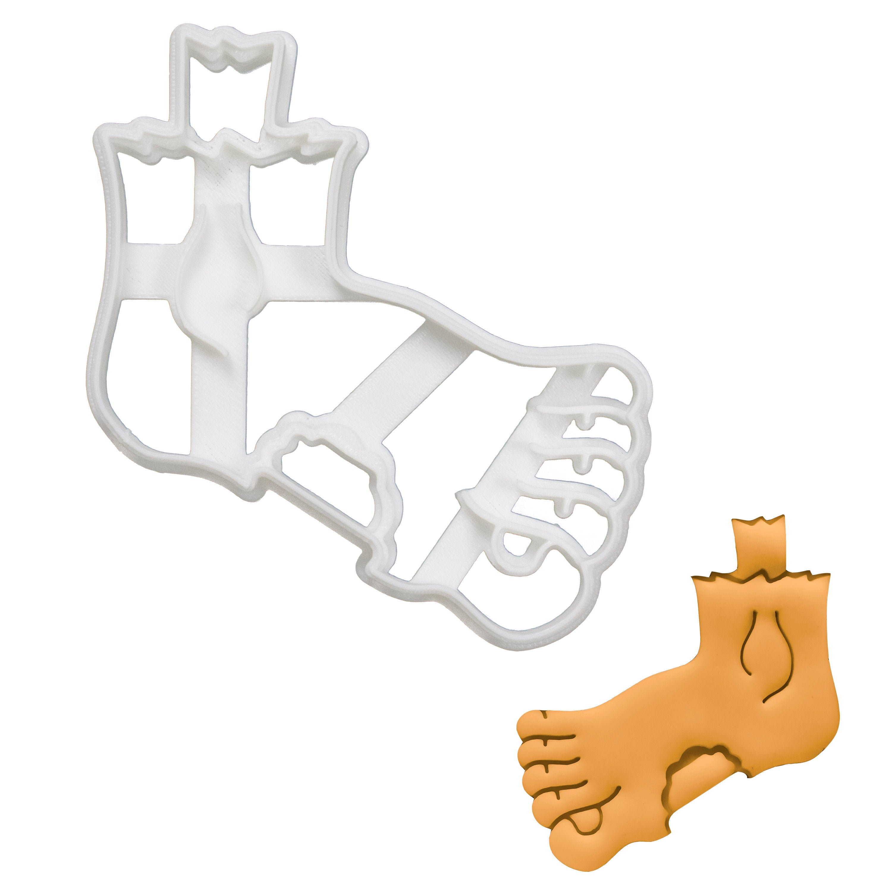Zombie Foot Cookie Cutter