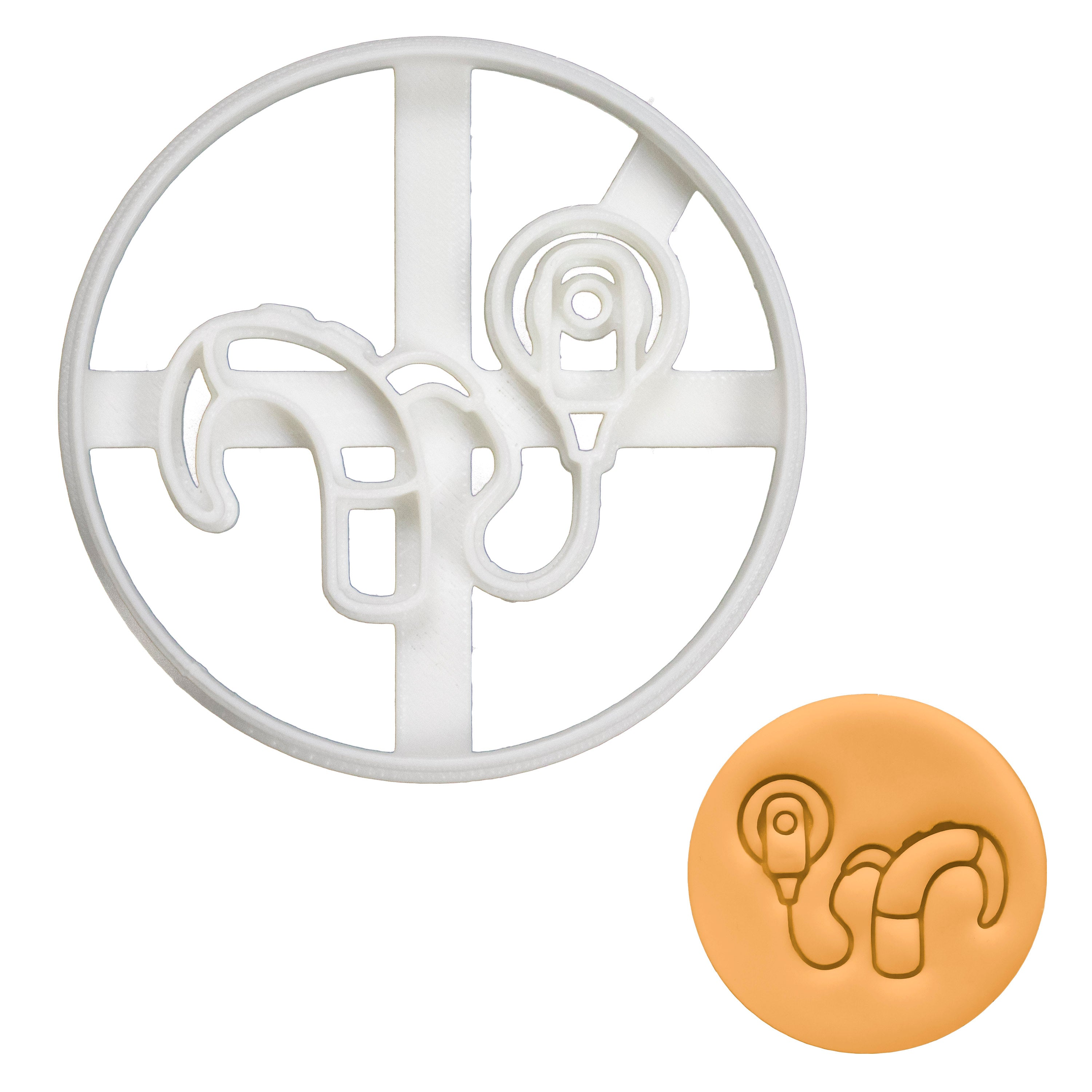 Cochlear Implant Transmitter Cookie Cutter