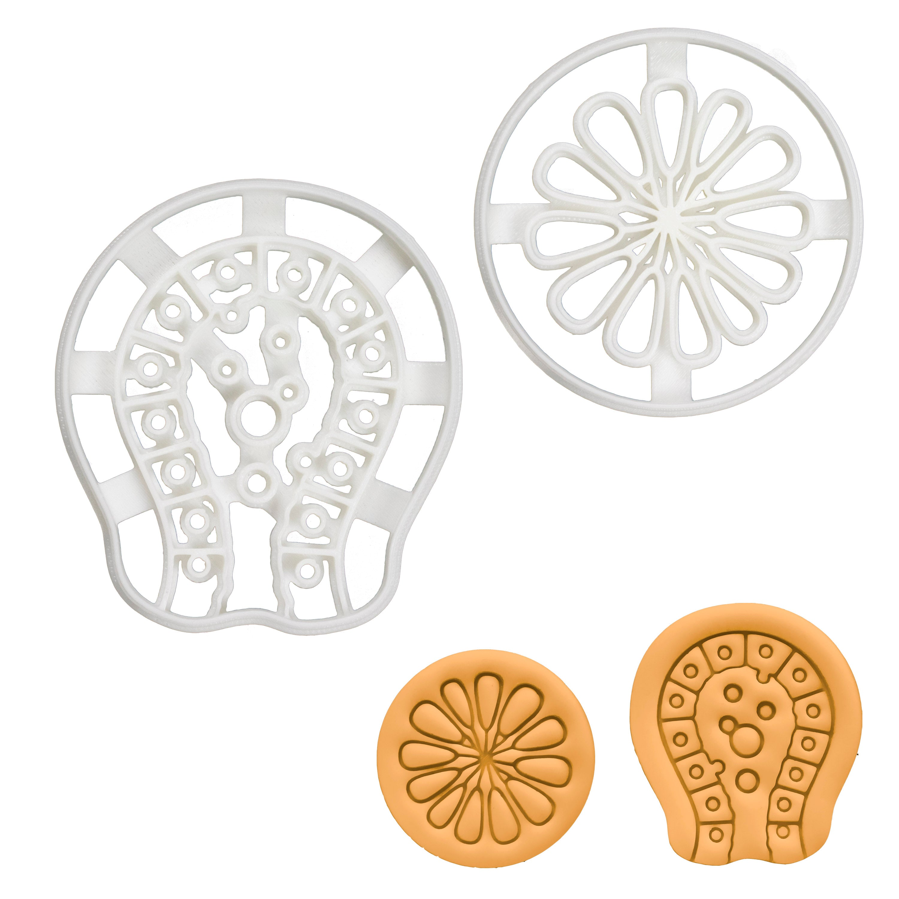 Set of 2 Cookie Cutters: Milk Ducts & Mammary Alveoli Glands
