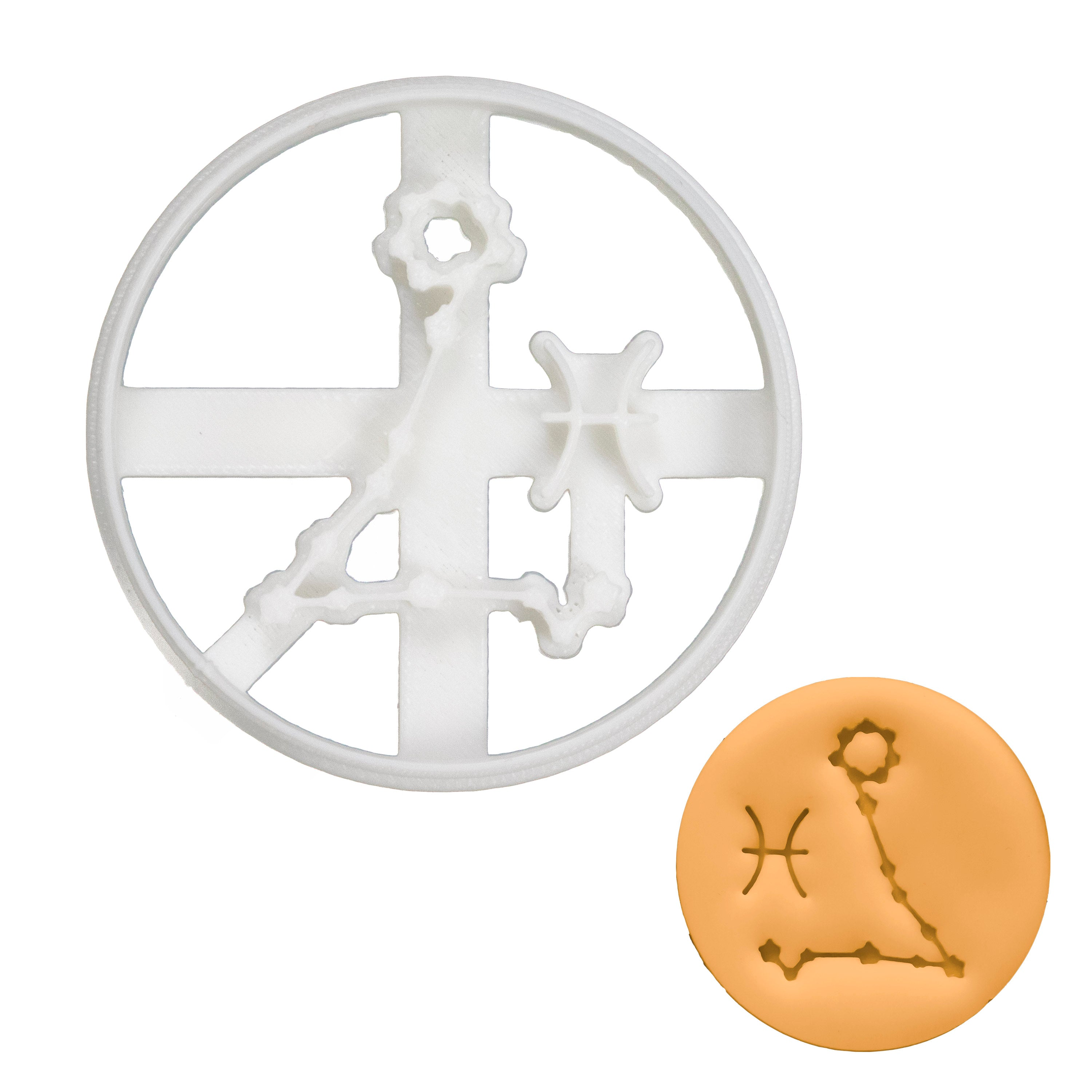 Pisces Horoscope Cookie Cutter