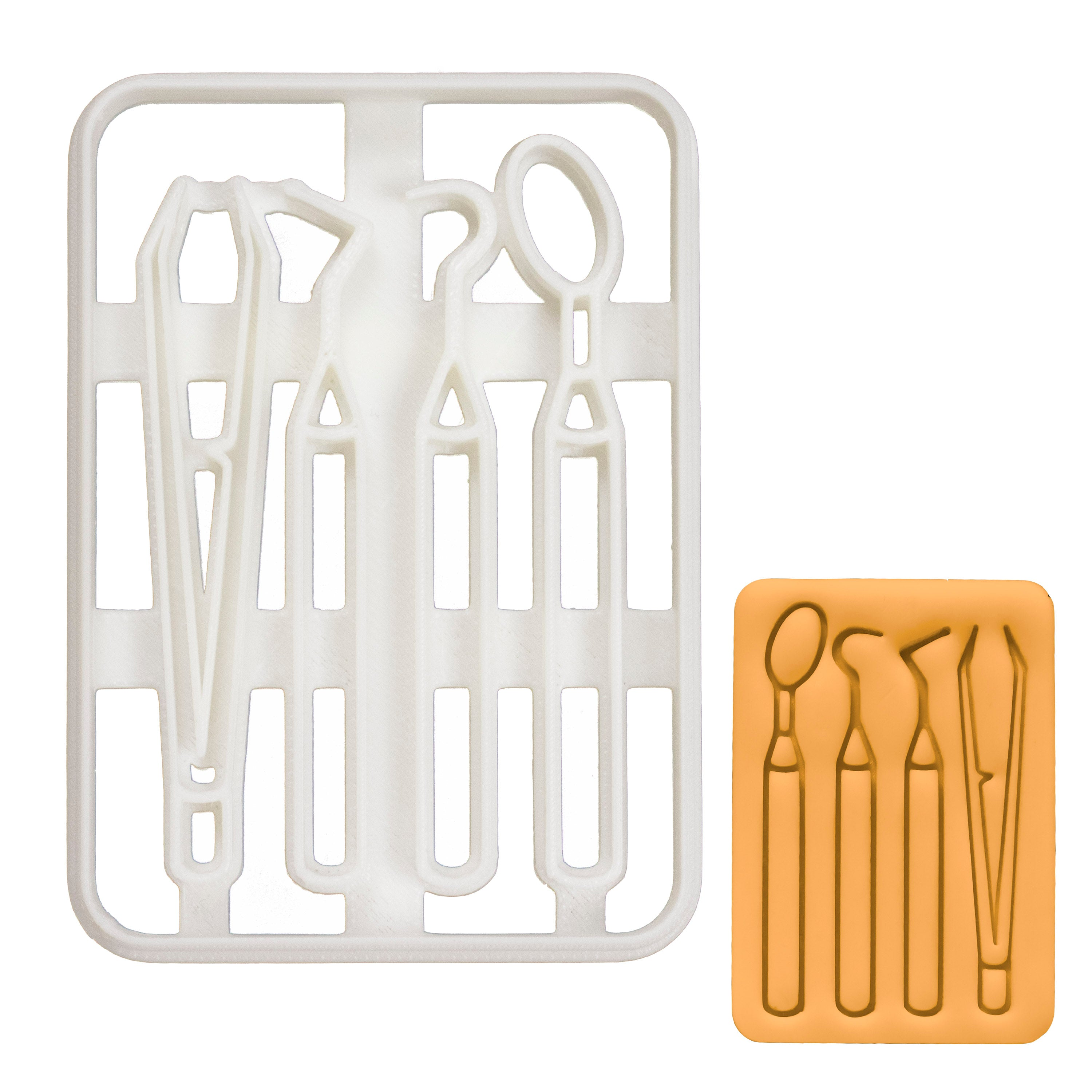 Dentist Examination Tools cookie cutter