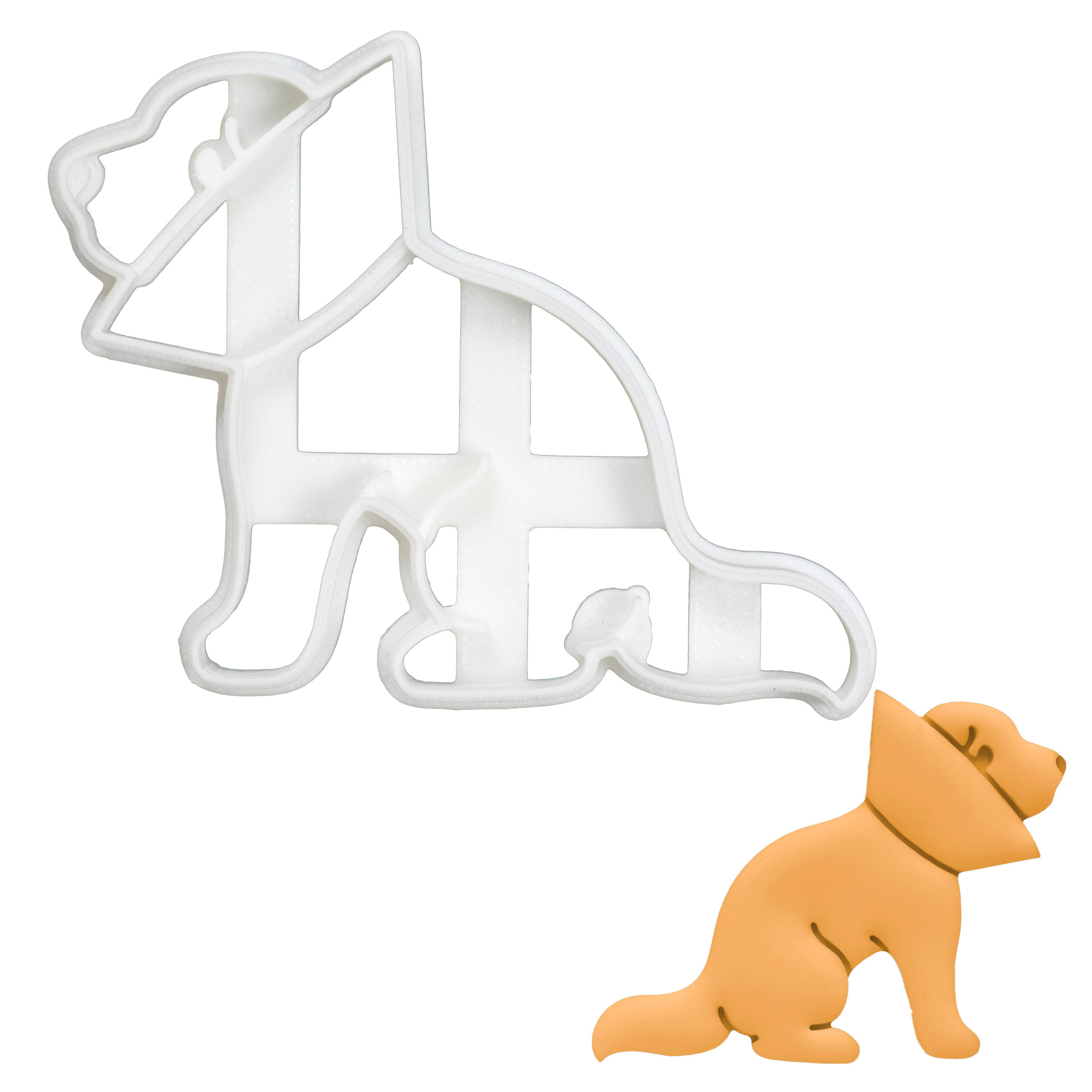 Dog Cone of Shame Cookie Cutter