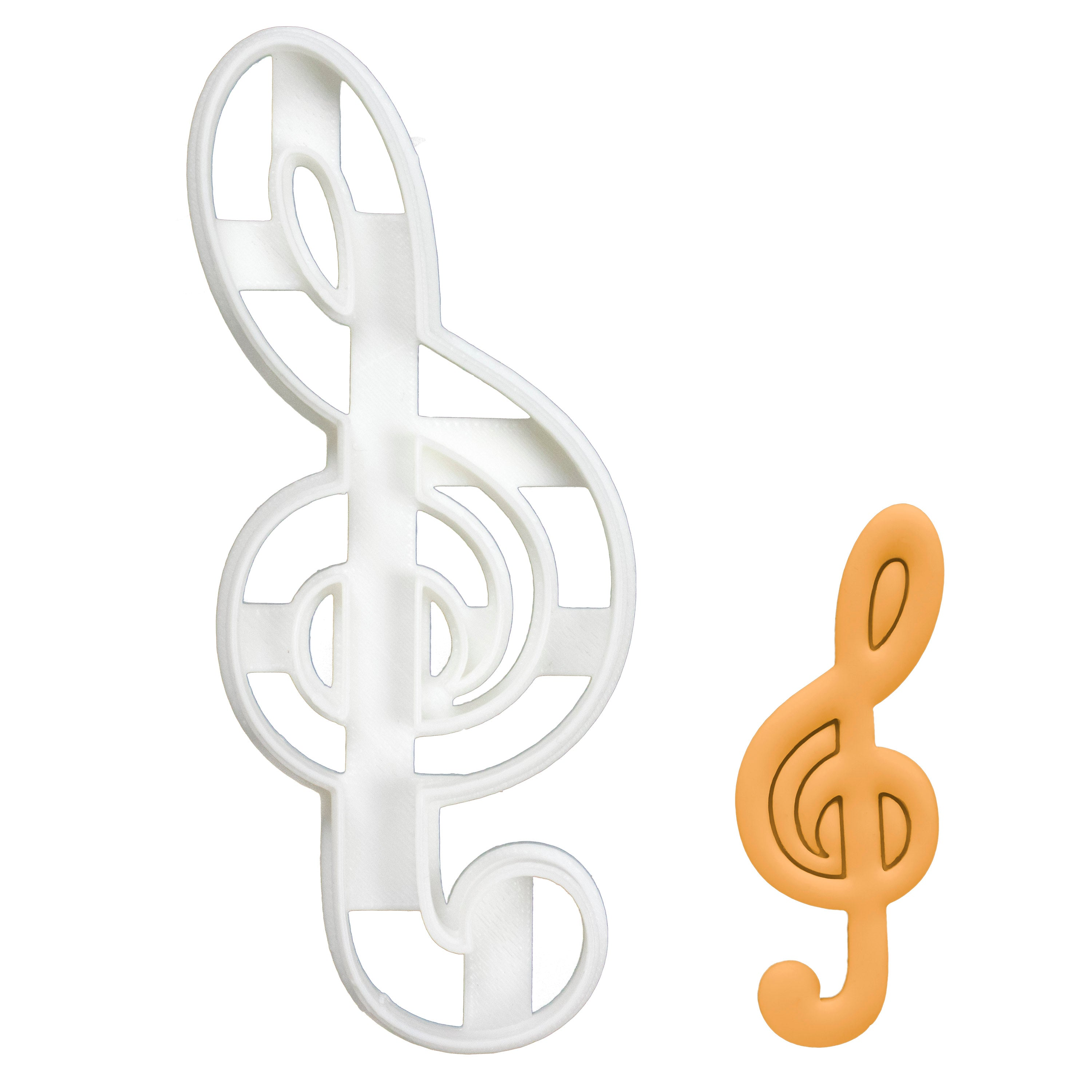 Treble Clef Cookie Cutter