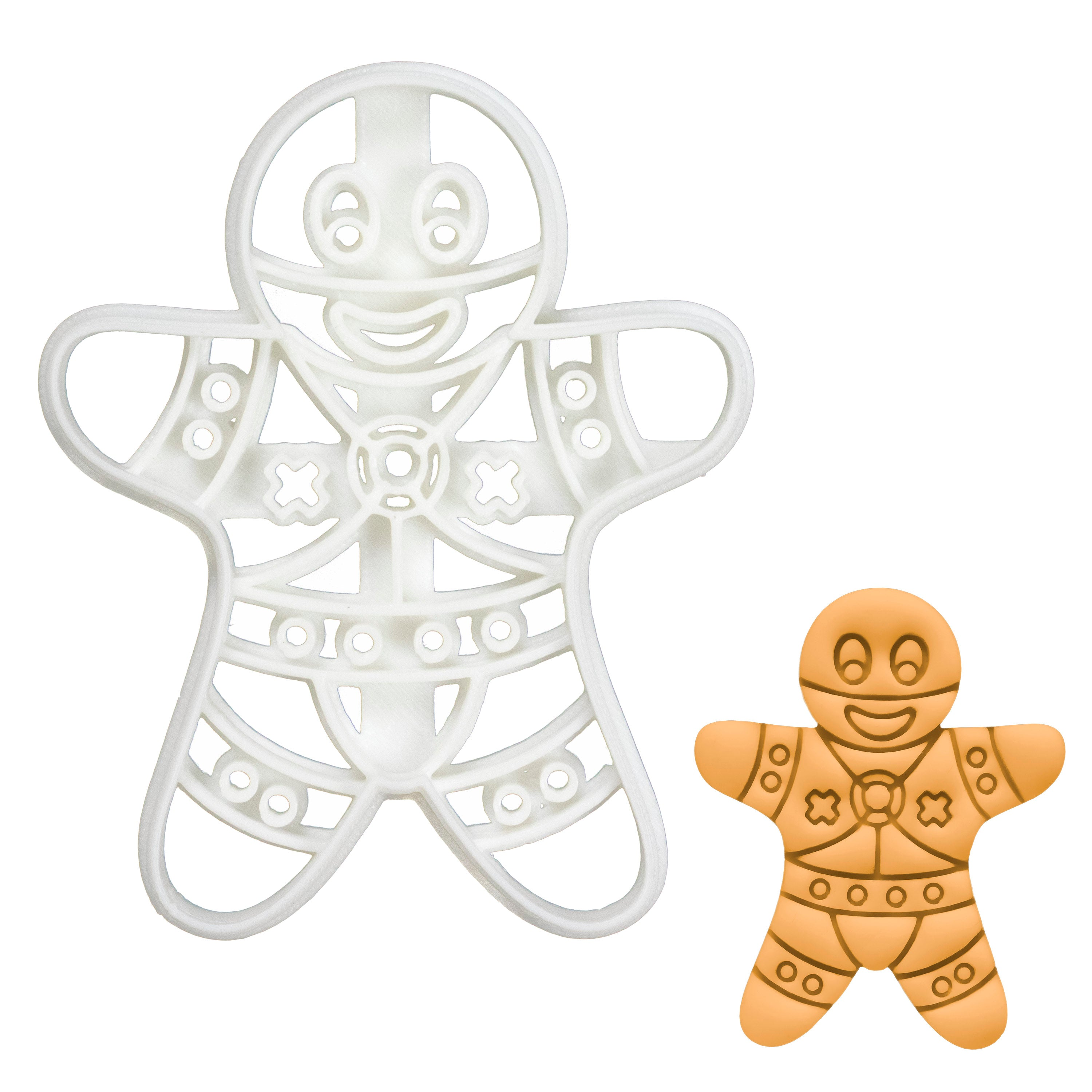 BDSM Dominant Gingerbread Man Cookie Cutter
