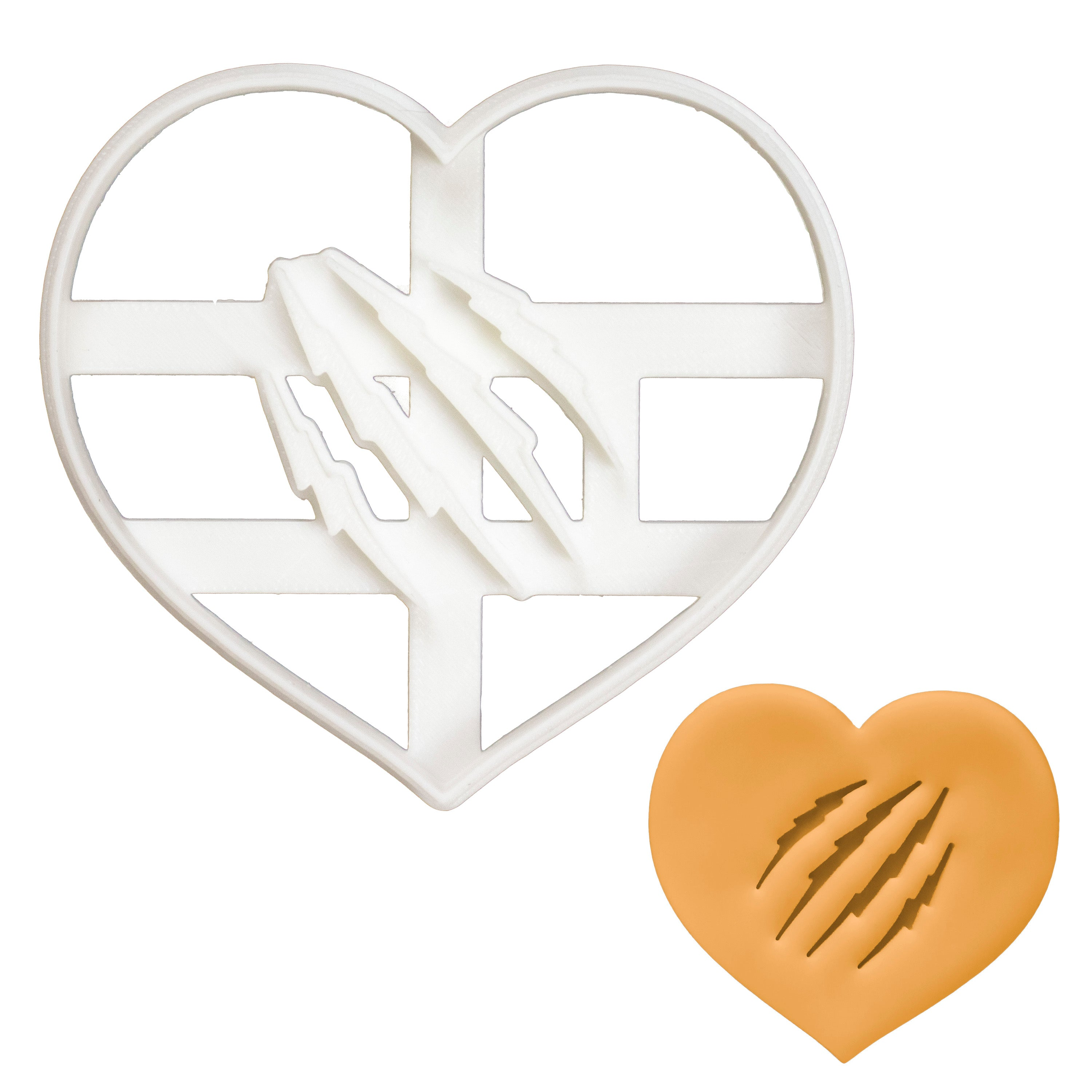 Heart Claws Cookie Cutter