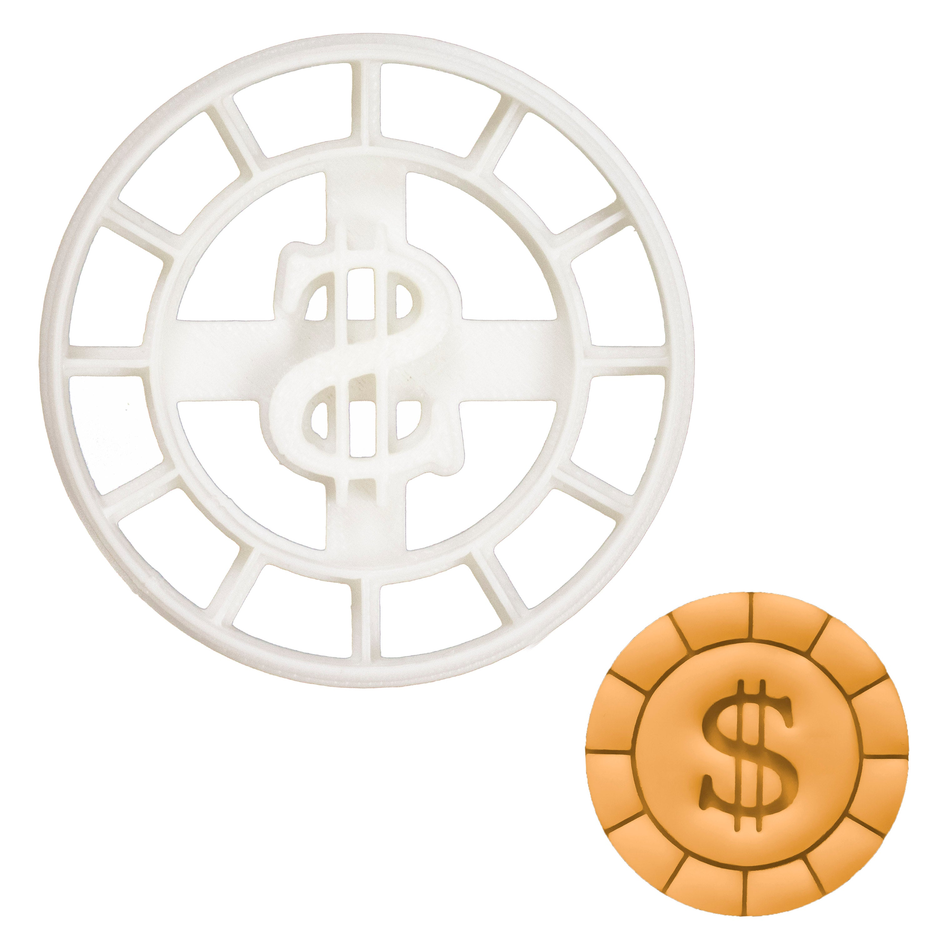 Gold Coin Cookie Cutter