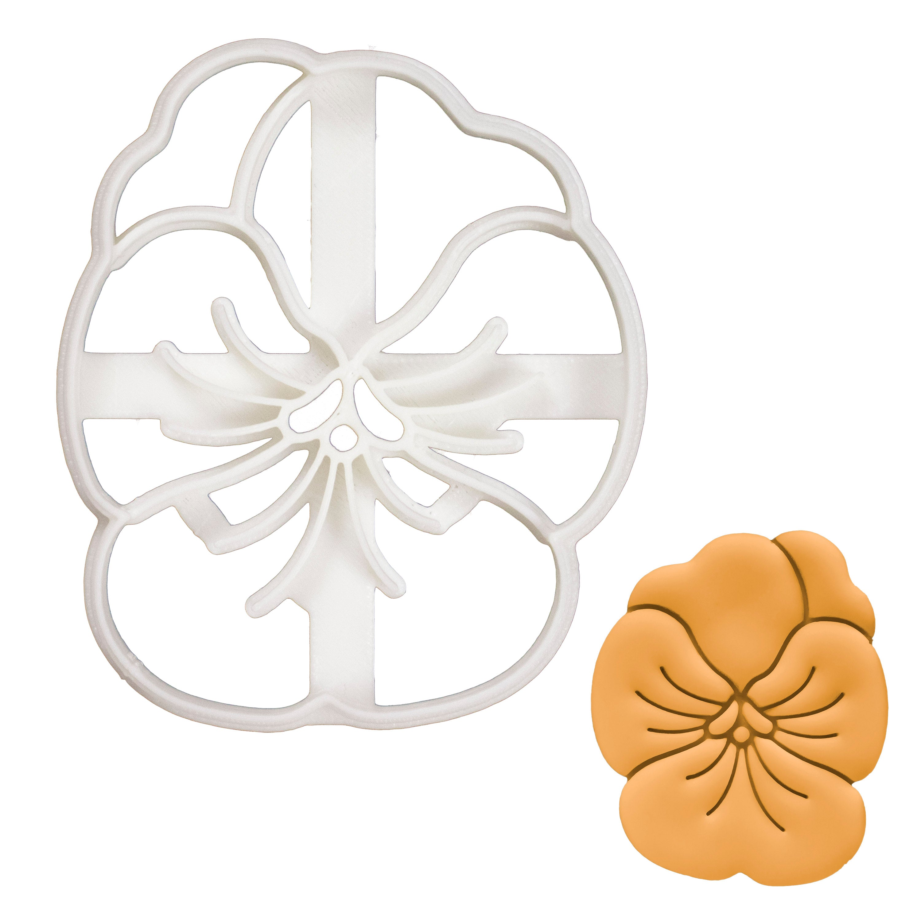 Pansy Flower cookie cutter