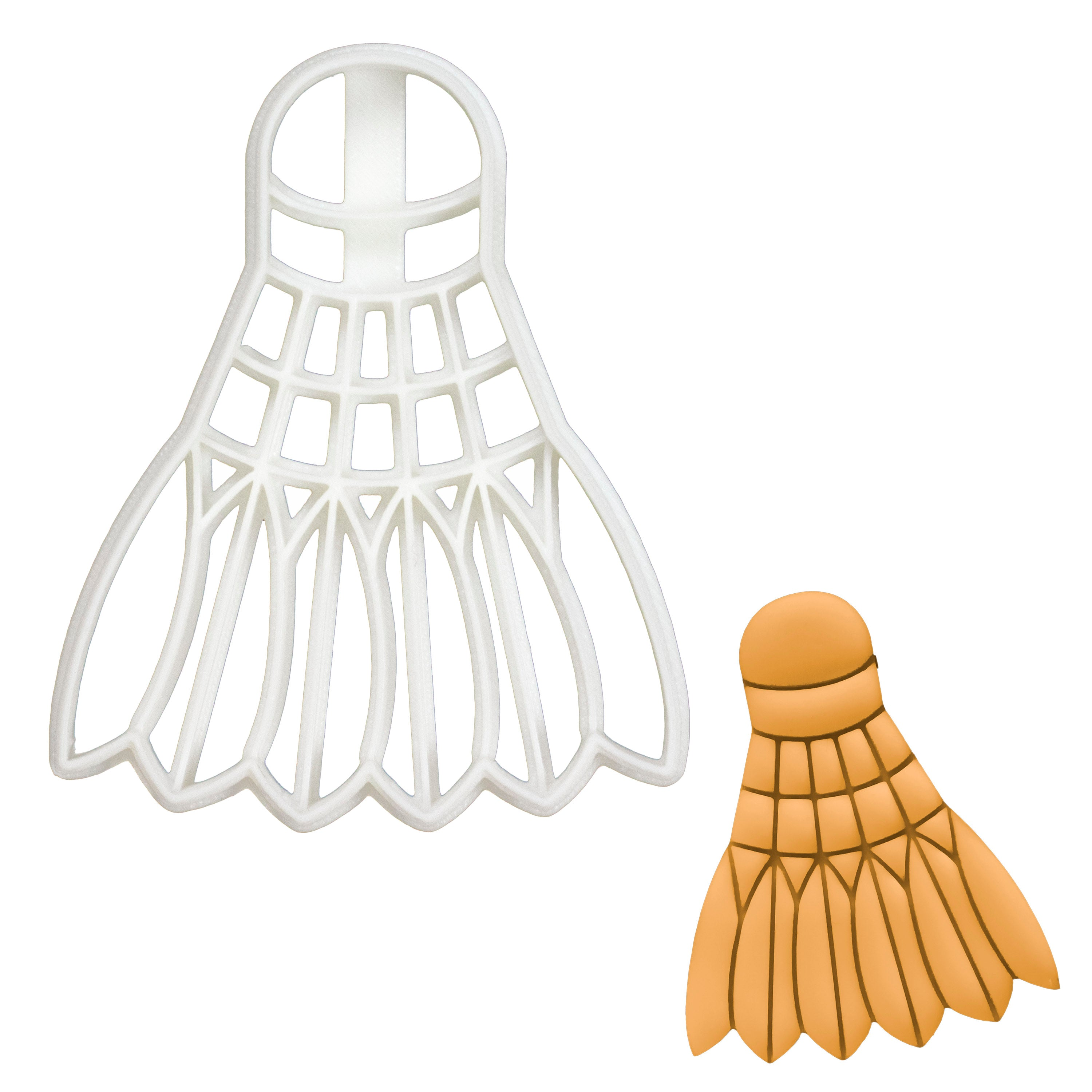 Badminton Shuttlecock cookie cutter