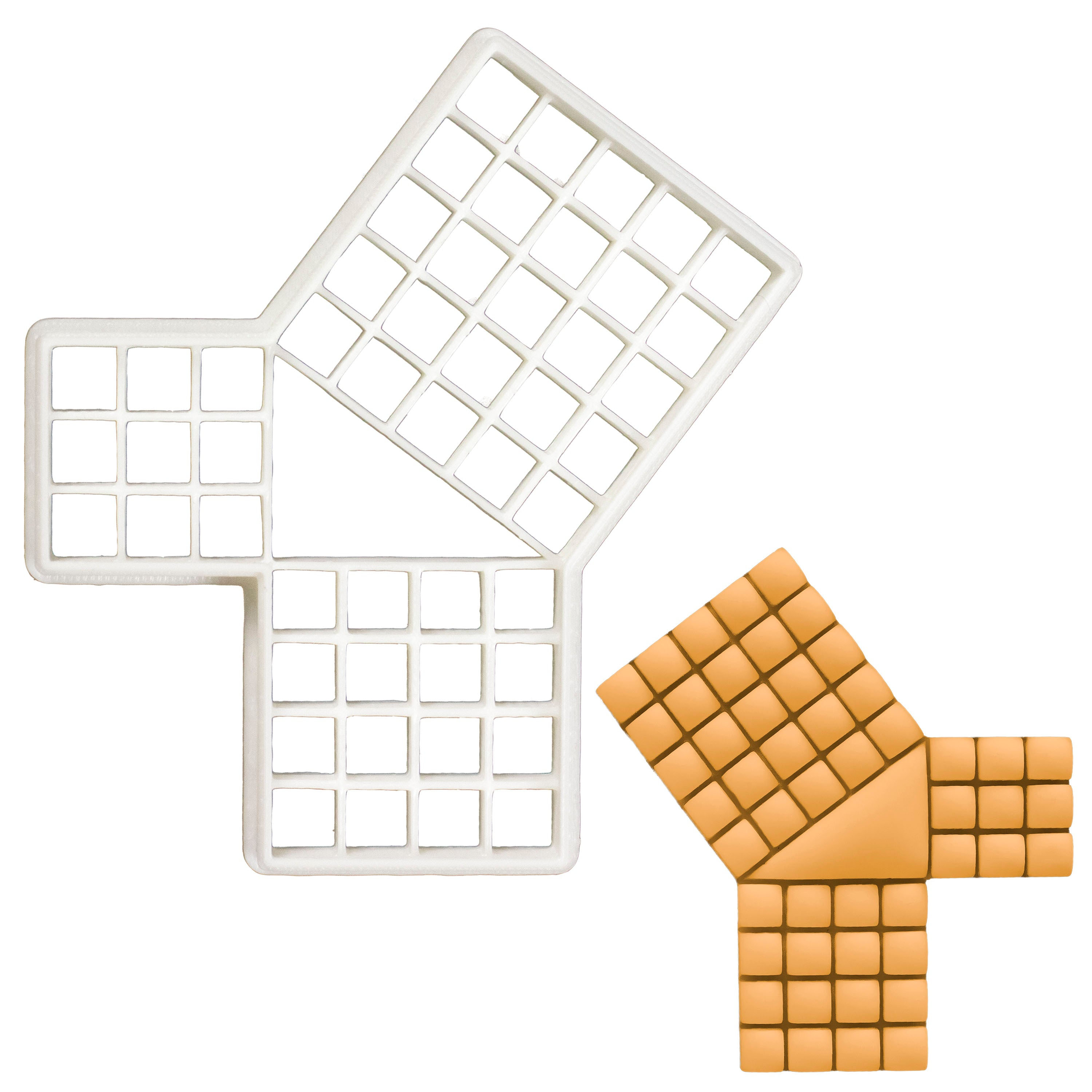 Proof of Pythagorean Theorem cookie cutter