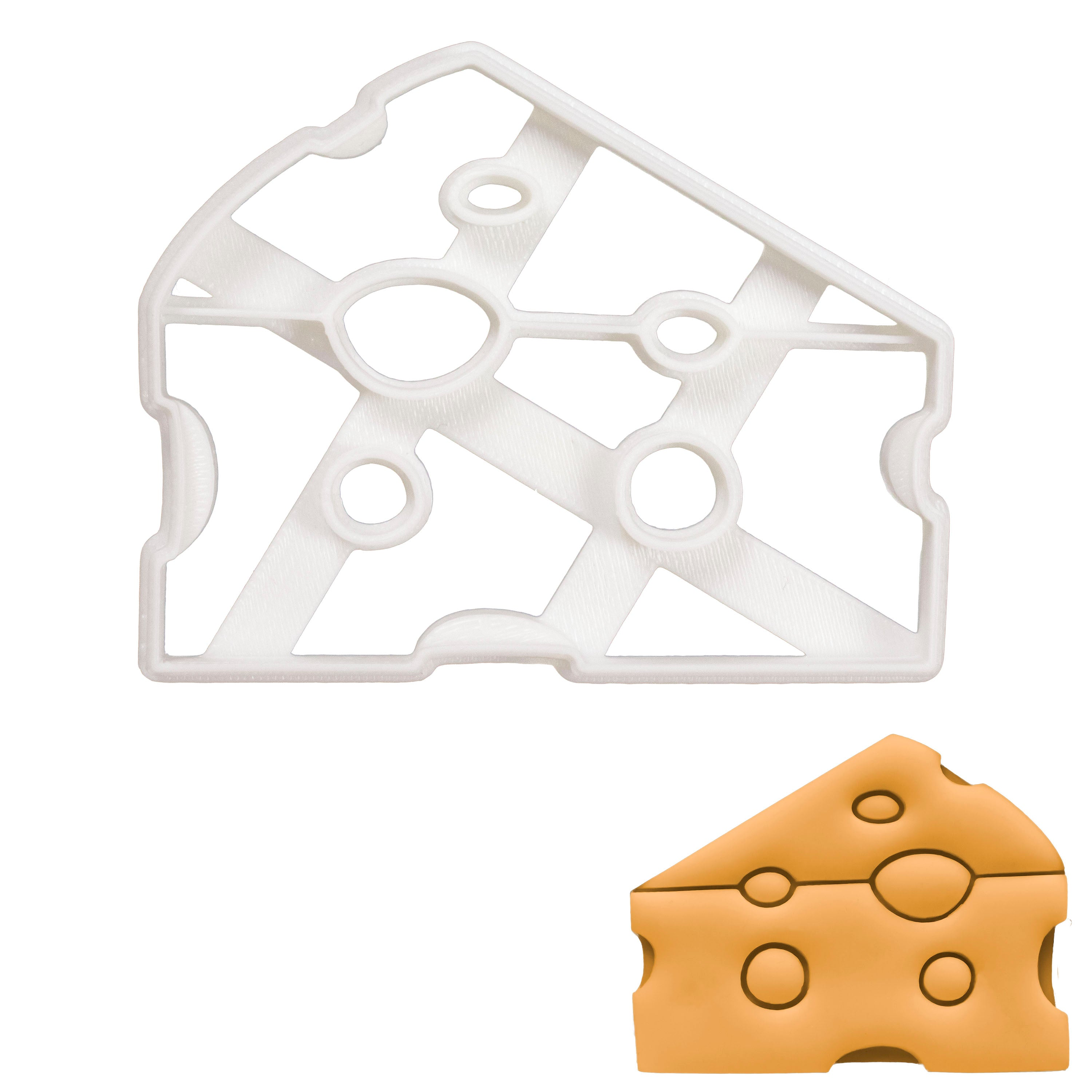 Cheese cookie cutter