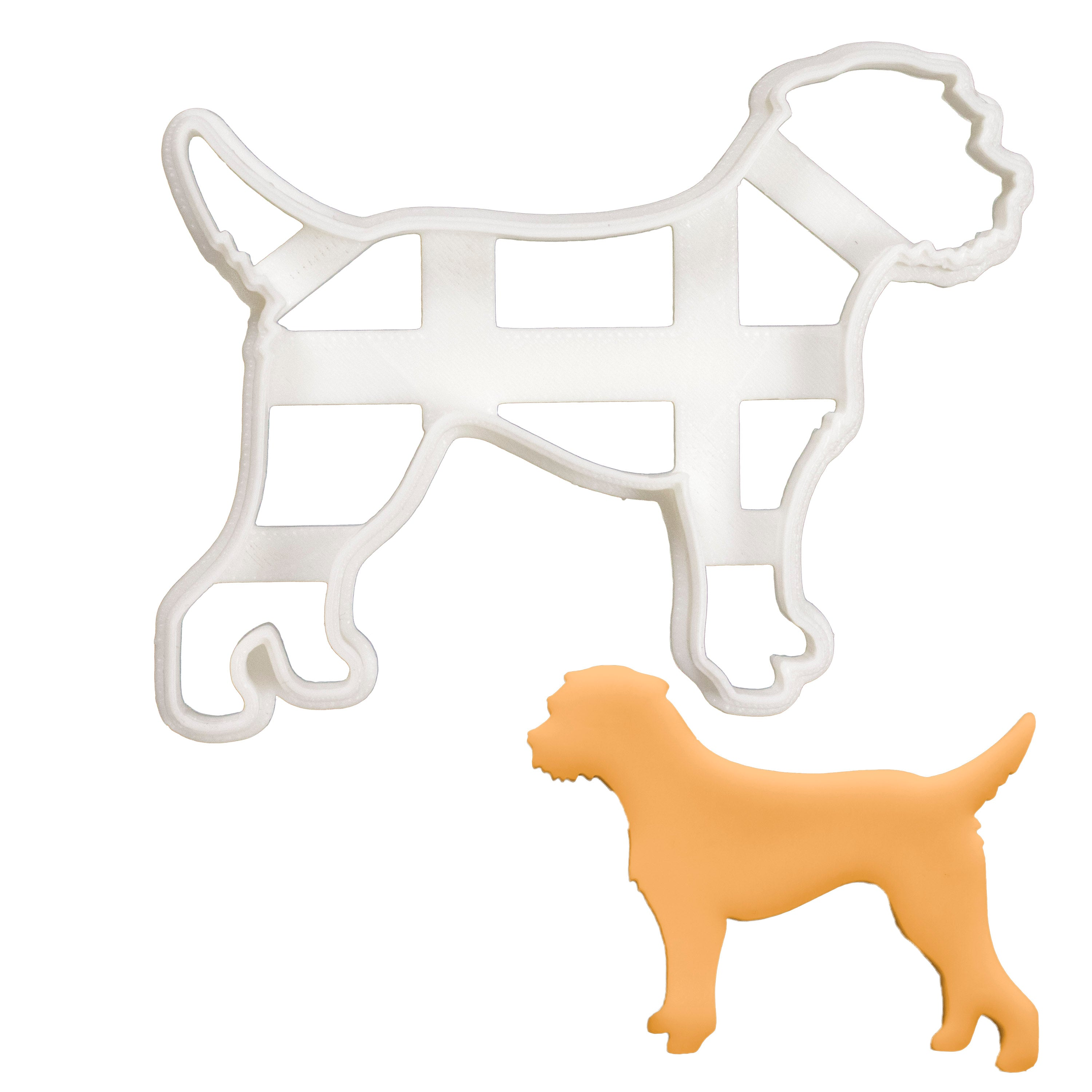 Border Terrier Silhouette cookie cutter
