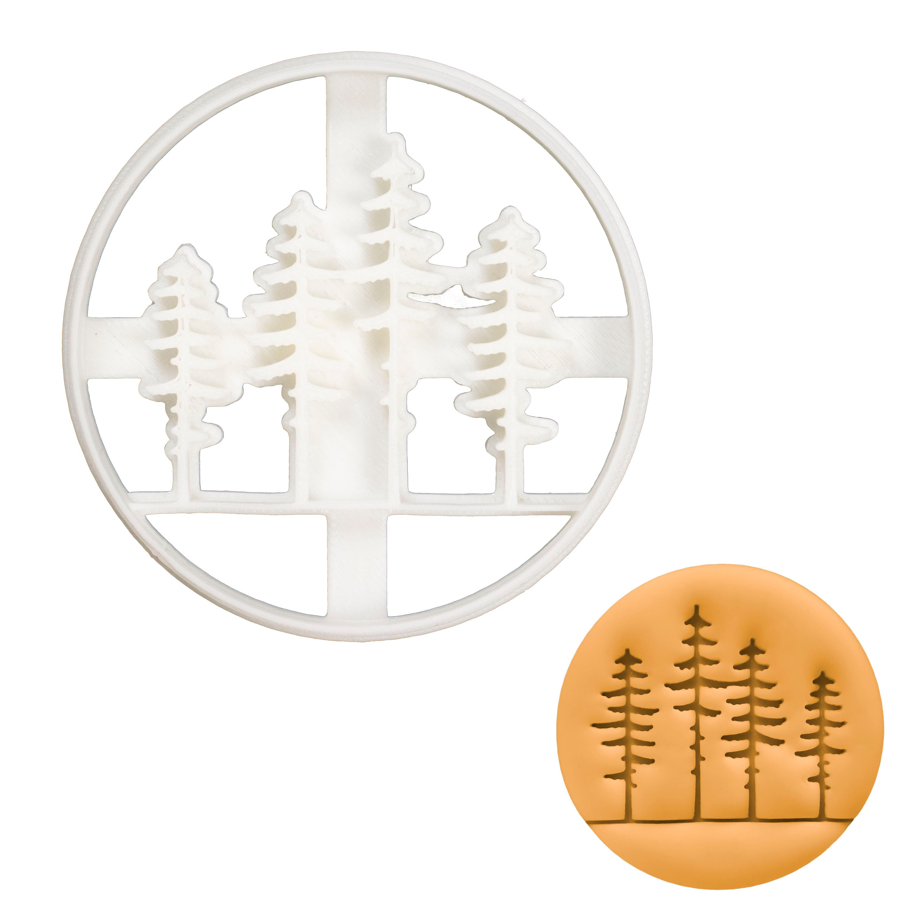 Pine Tree Forest cookie cutter