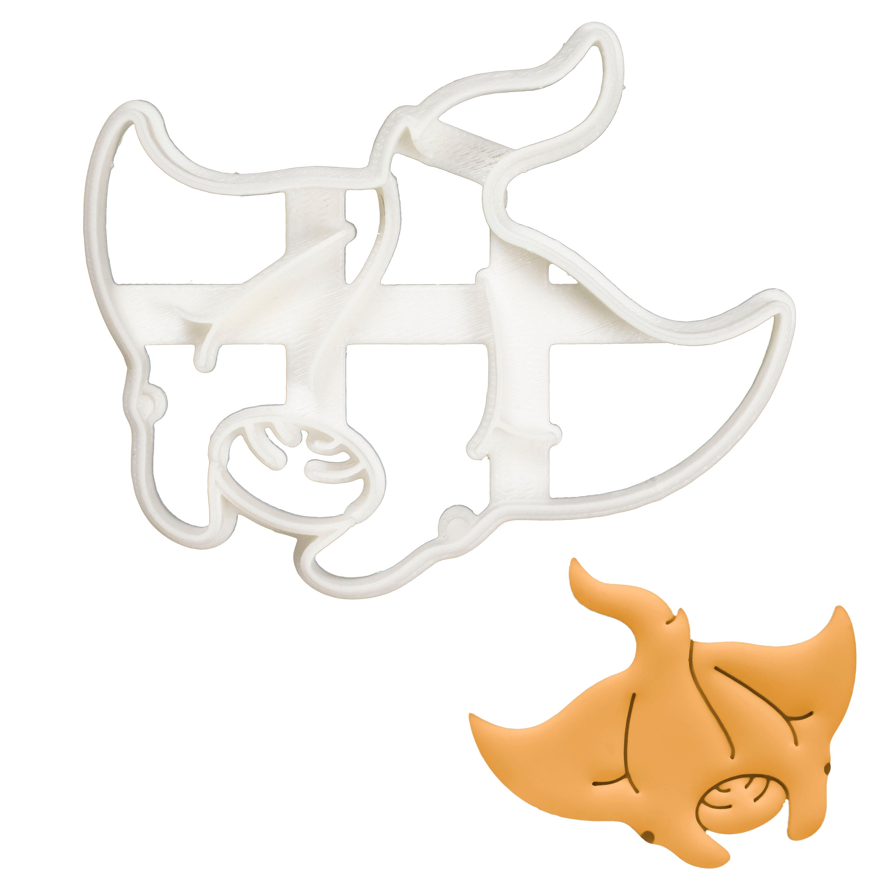 Manta Ray cookie cutter