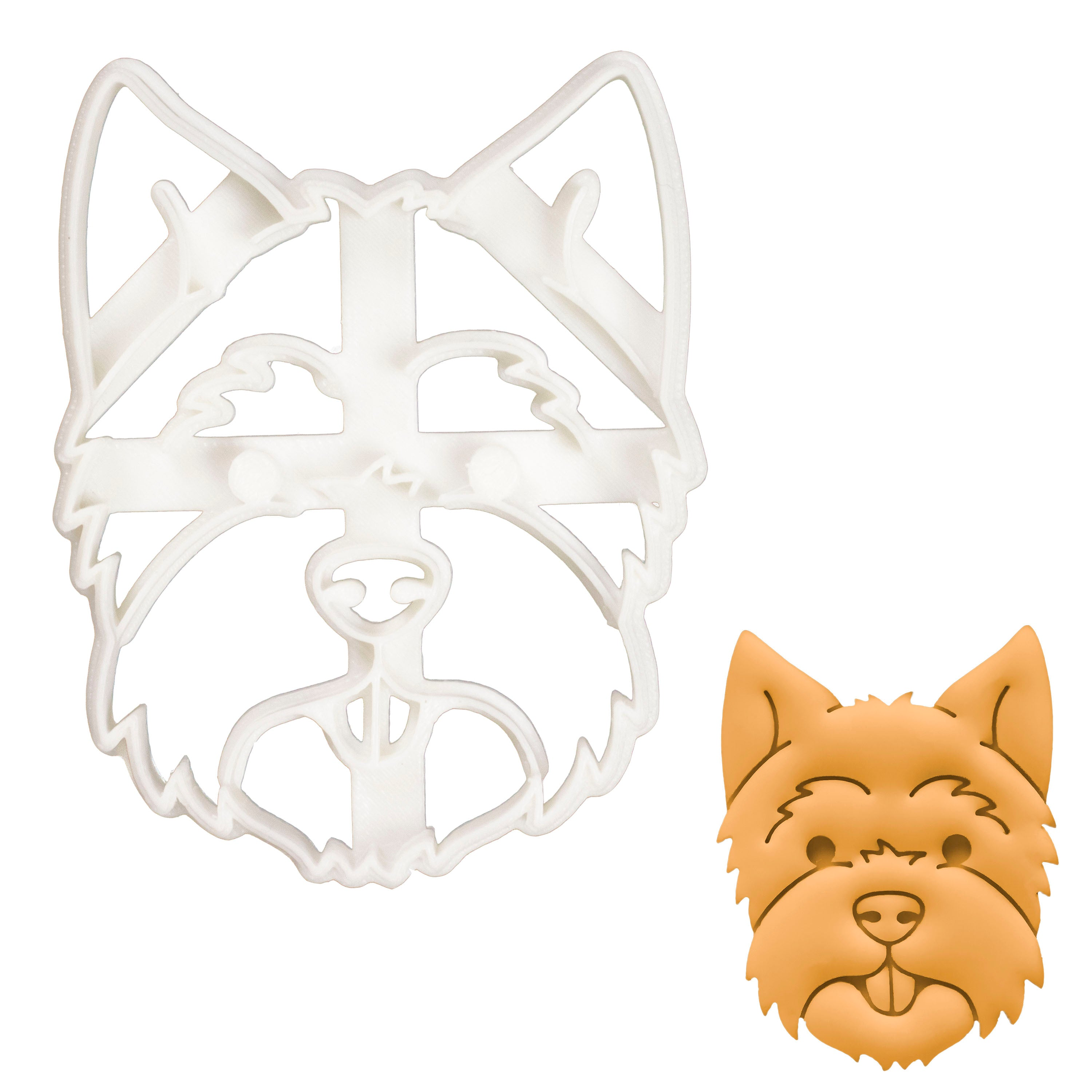 West Highland White Terrier Face cookie cutter