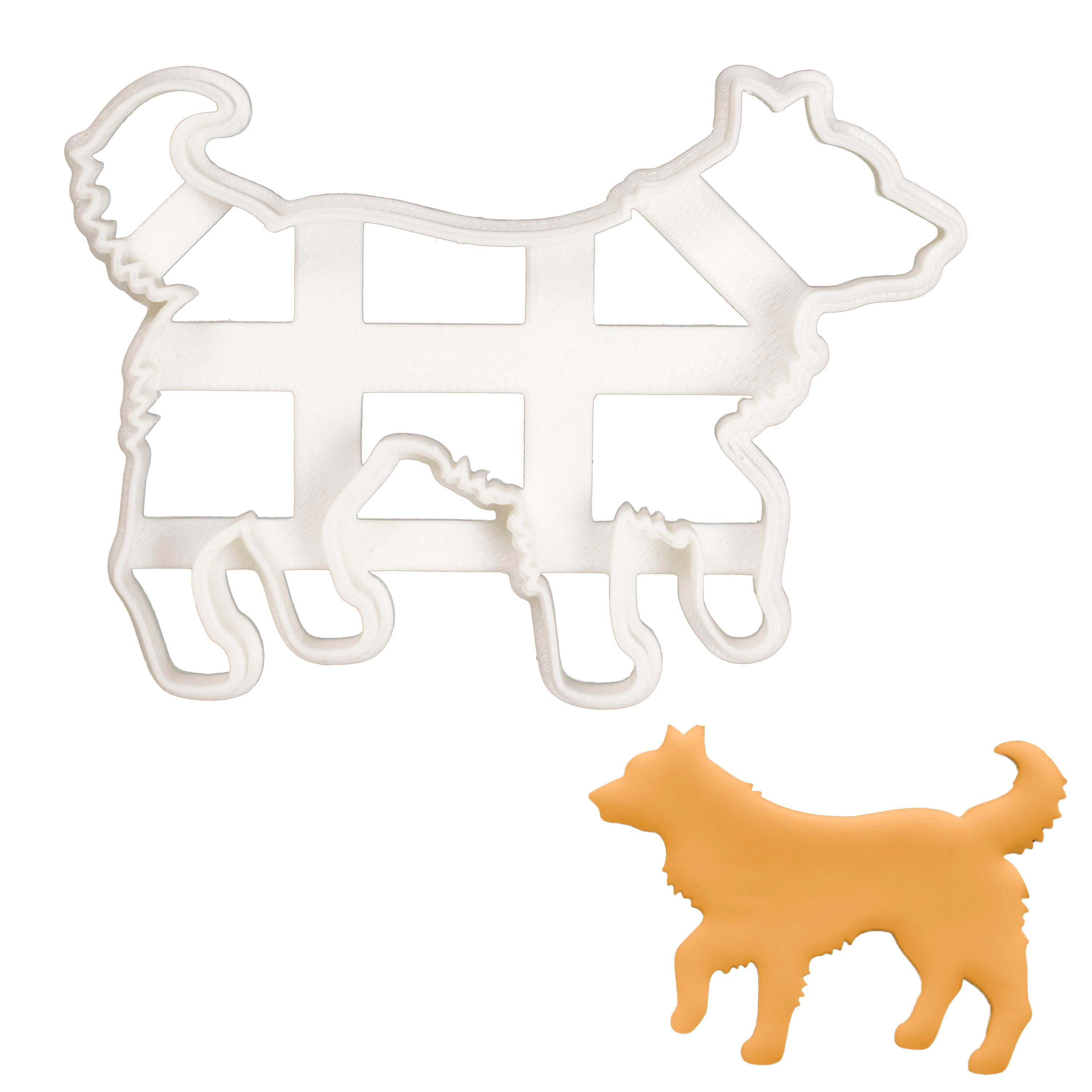 Border Collie Silhouette cookie cutter