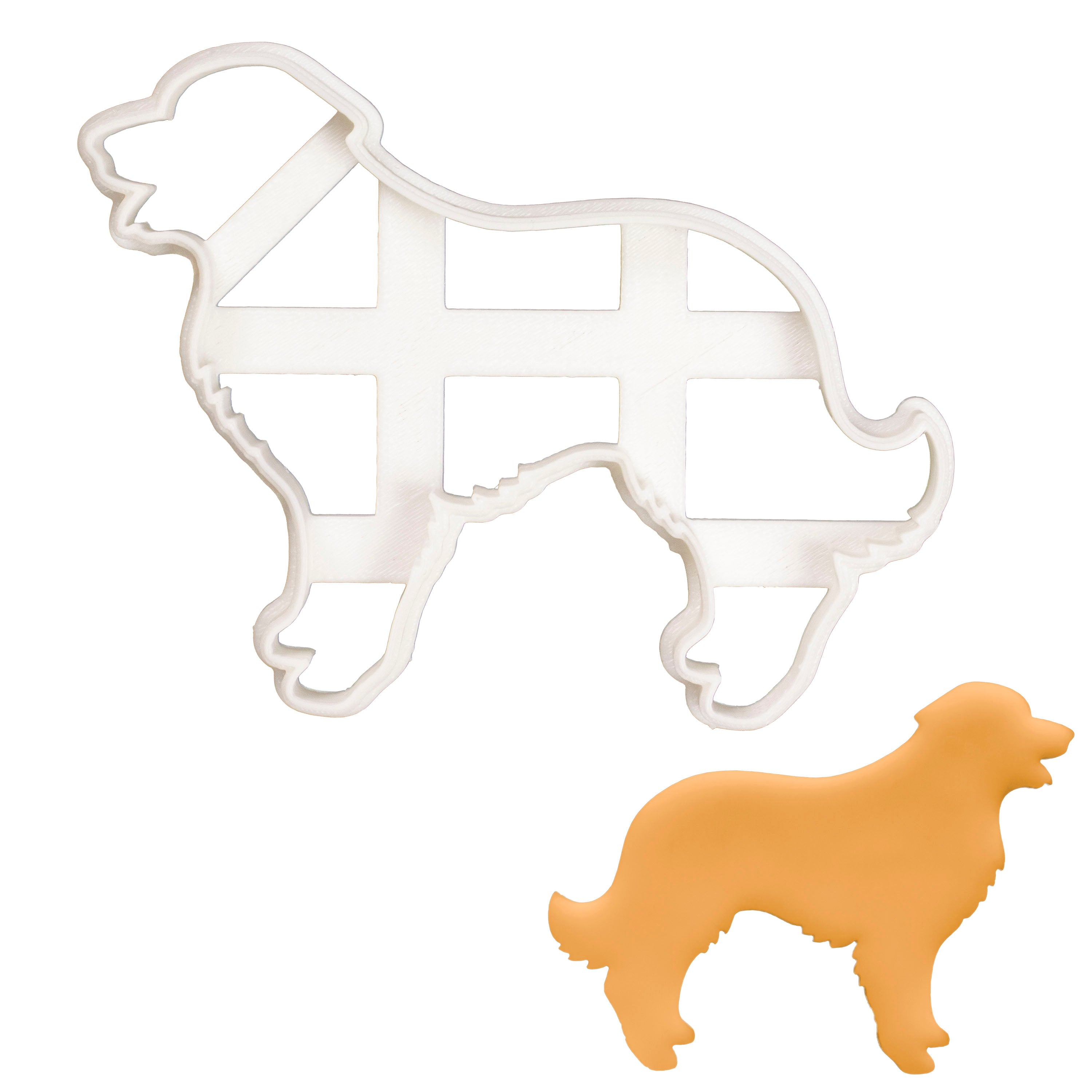 Leonberger Silhouette cookie cutter