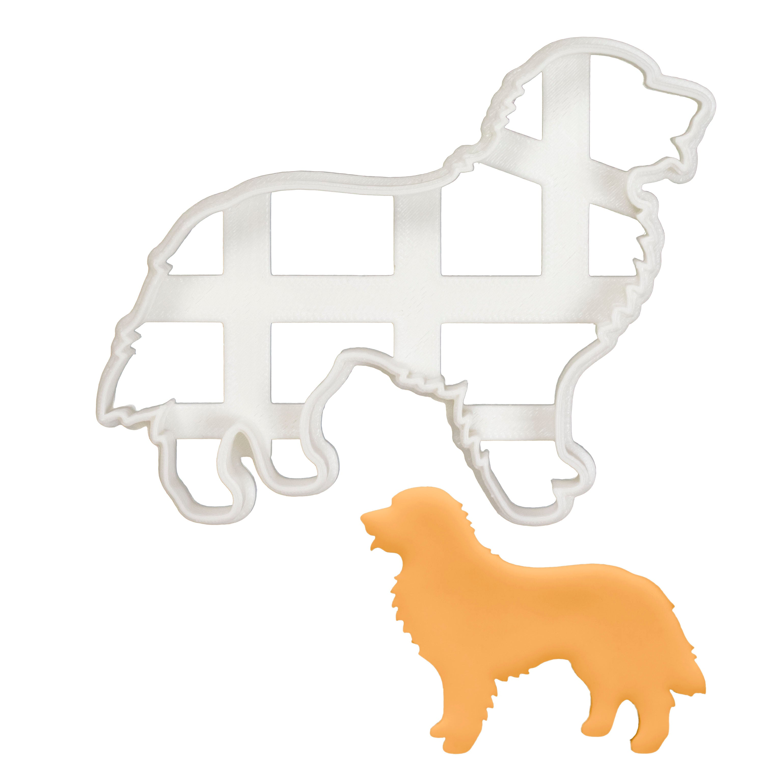 Bernese Mountain Dog Silhouette cookie cutter