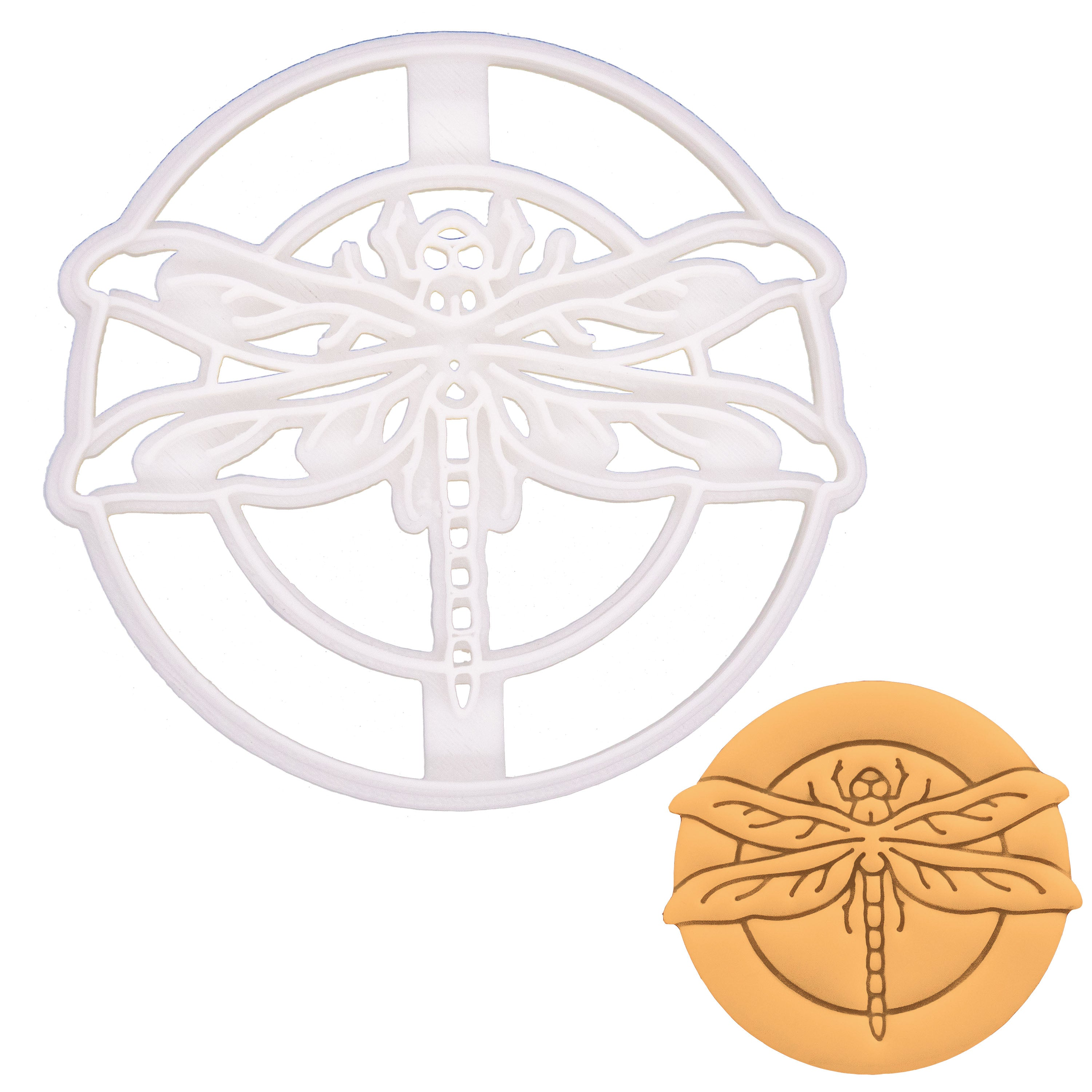Realistic Dragonfly Cookie Cutter