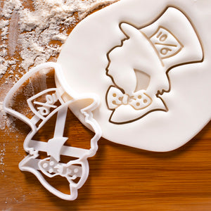 Mad Hatter Cookie Cutter