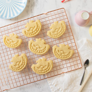 alice's adventures in wonderland - cheshire cat cookies