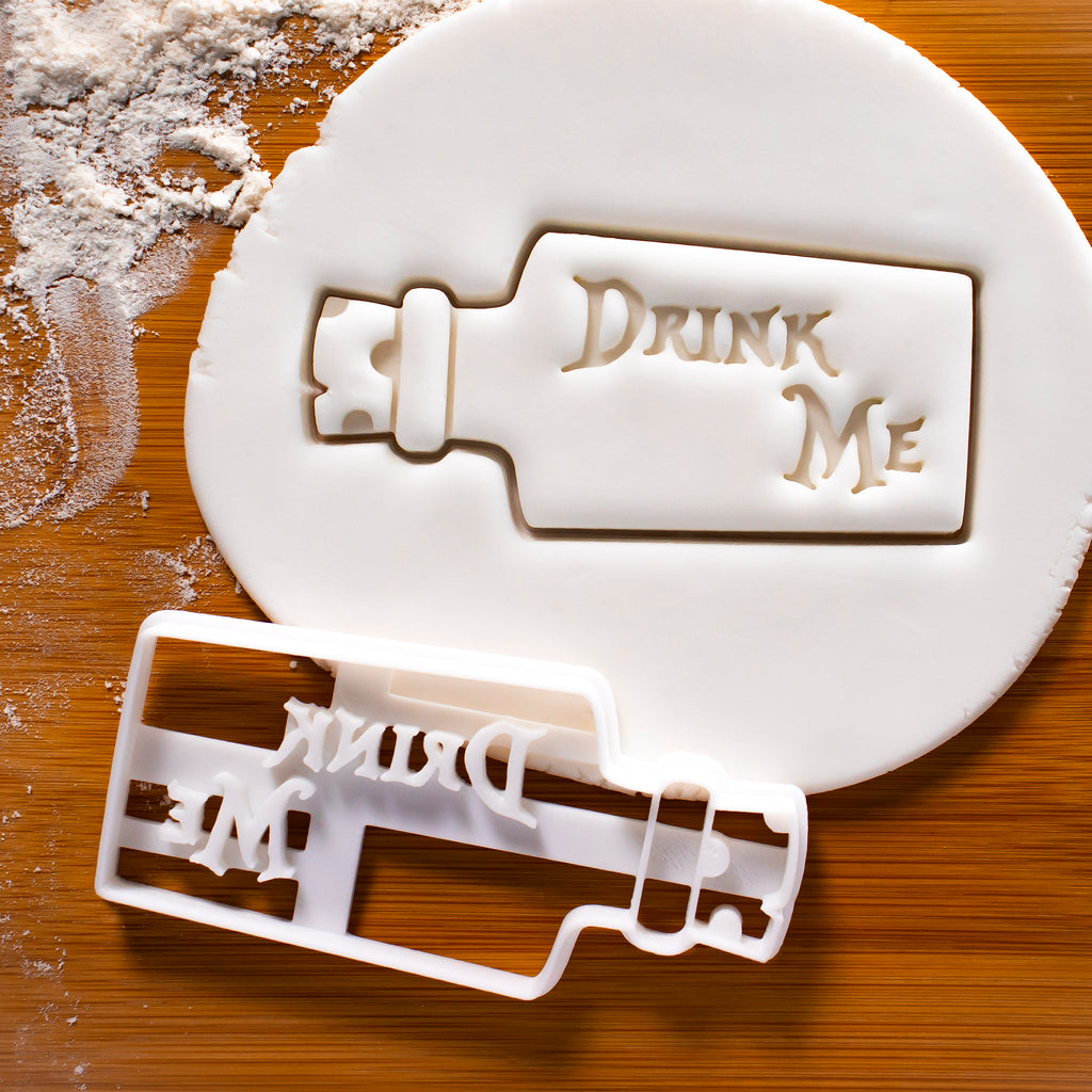 Drink Me Cookie Cutter