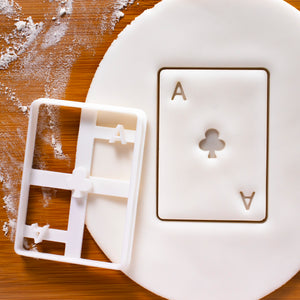 Poker Card Ace Club Cookie Cutter