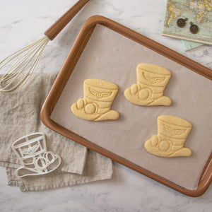 steampunk hat cookies