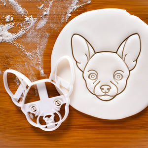 Chihuahua Face cookie cutter