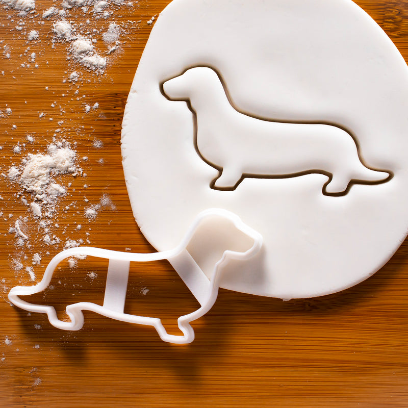 Short Haired Dachshund Outline Cookie Cutter