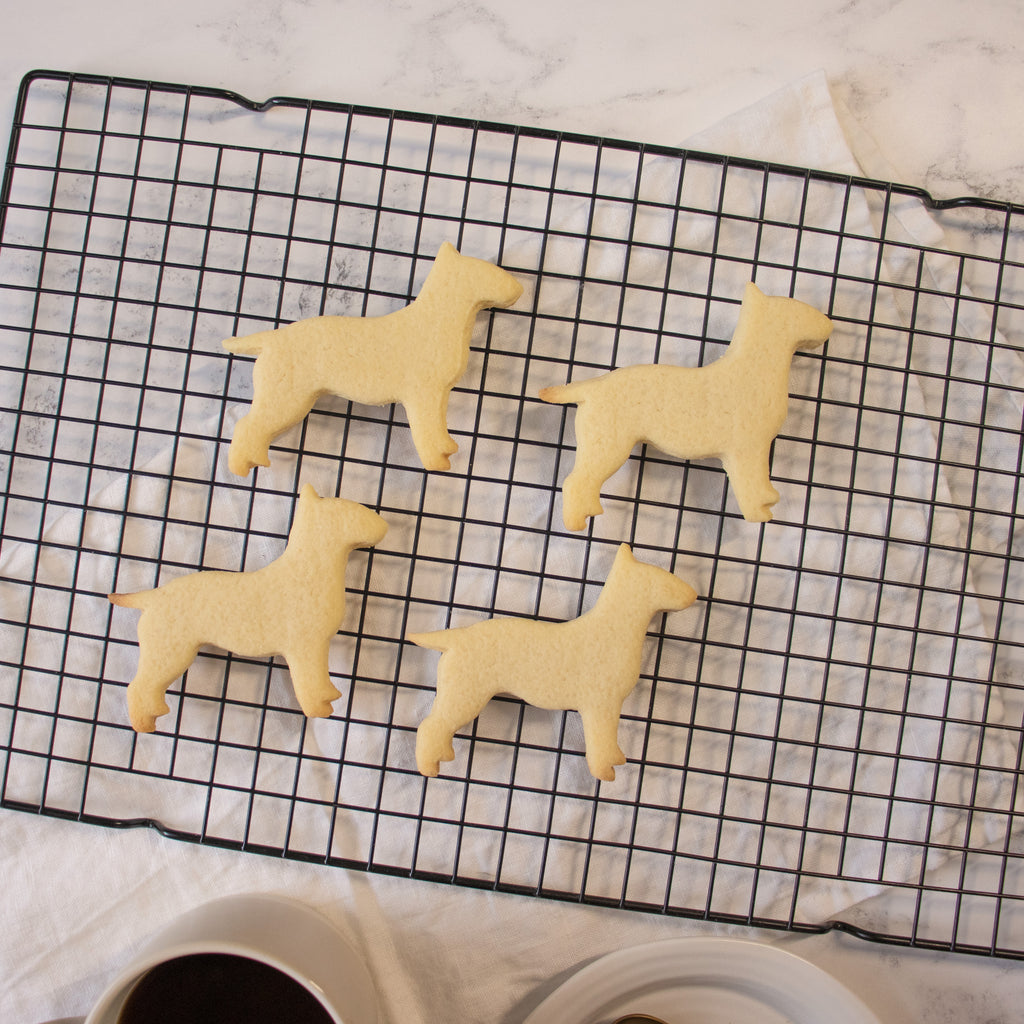 English Bull Terrier Silhouette cookies