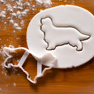 cavalier king charles spaniel dog silhouette cookie cutter