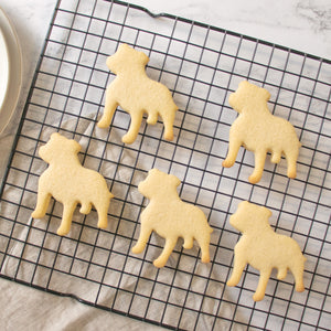 Staffordshire Bull Terrier Staffy Silhouette cookies