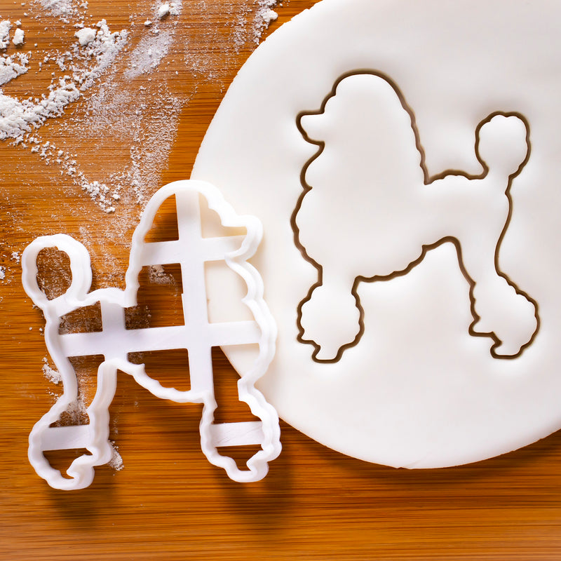 poodle outline cookie cutter