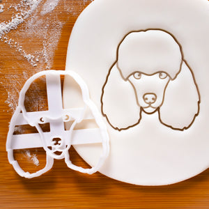 poodle face cookie cutter