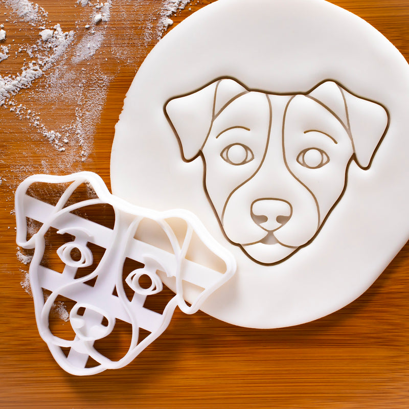 Jack Russell Face Cookie Cutter