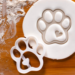 large cute paw cookie cutter