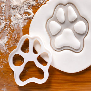 Large Realistic Dog Paw Cookie Cutter