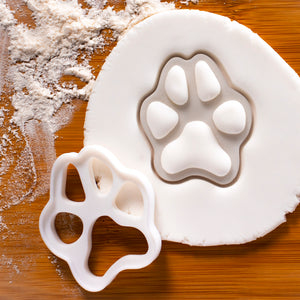 Small Realistic Dog Paw Cookie Cutter