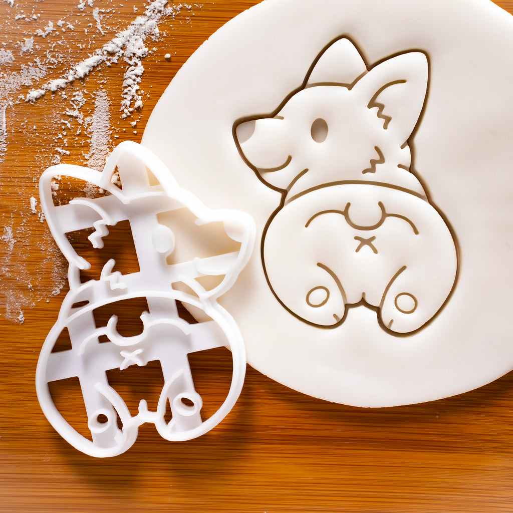 Corgi Butt Cookie Cutter