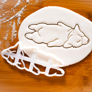 Sleepy Corgi Cookie Cutter