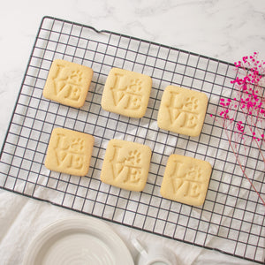 Philly LOVE with Paw Print Cookies (Square)