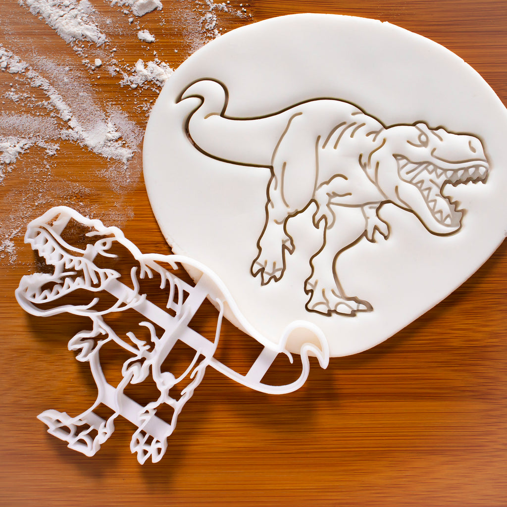 realistic t-rex cookie cutter