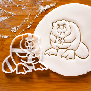 Beaver Cookie Cutter